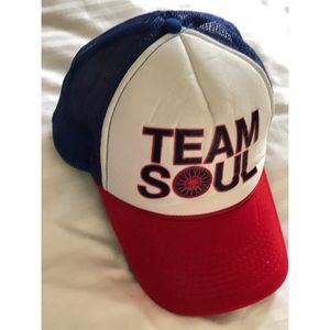 New SoulCycle red white blue USA baseball cap hat